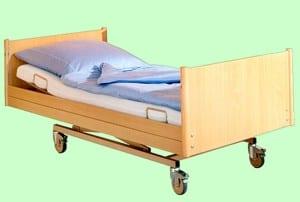 Moderne Pflegebetten