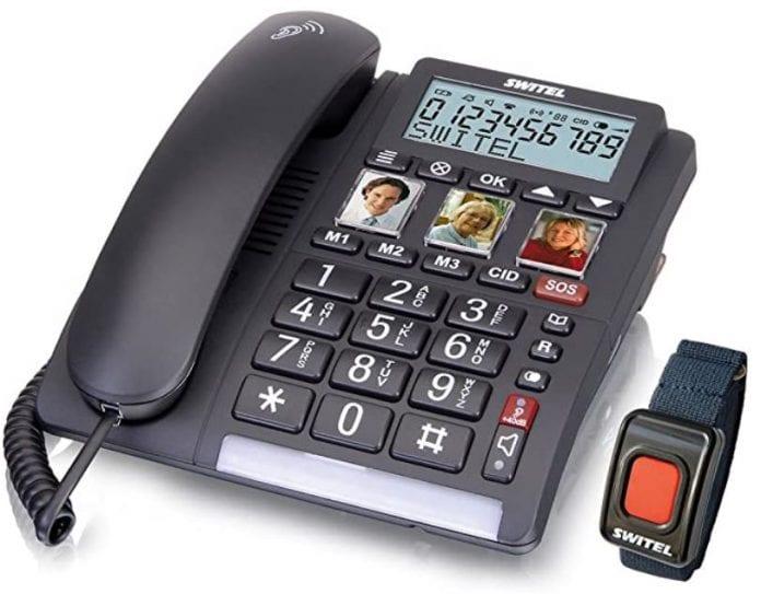 Switel Hausnotruf Telefon