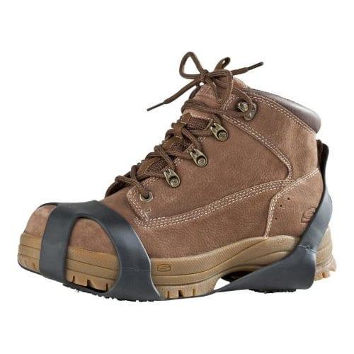 Schuh Spikes – Gleitschutz für alle Schuhe helfen bei Glatteis Tagen im Winter
