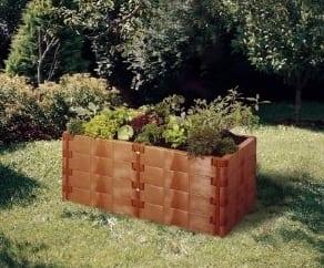 Garten Hochbeet erleichtert die Pflege