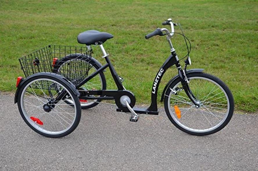 Dreirad für Senioren: Fahrrad fahren bis ins hohe Alter