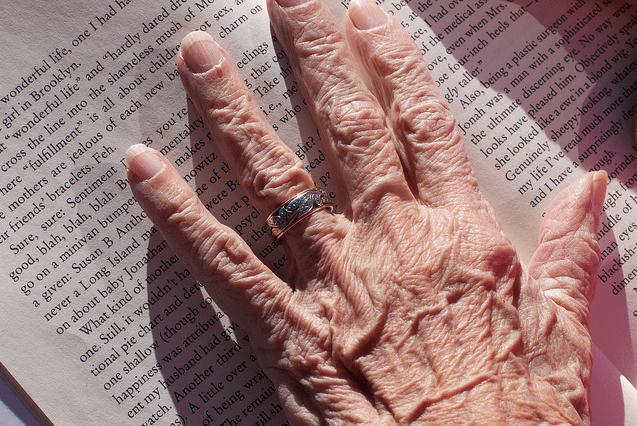 hand, buch, ring