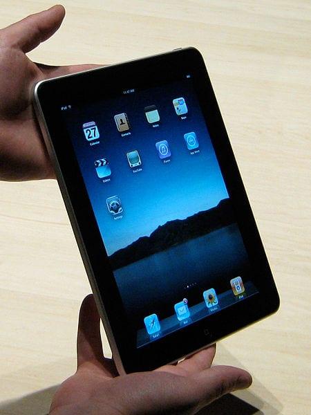 ipad, apple, tablet pc