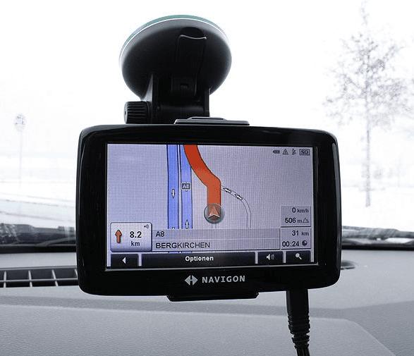 Navigationsgerät, straßenverkehr