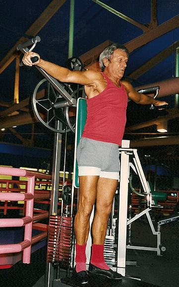 Sport, Fitnessgerät, Senioren