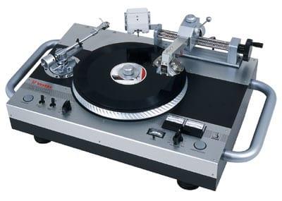 Schallplatten, Schallplattenspieler