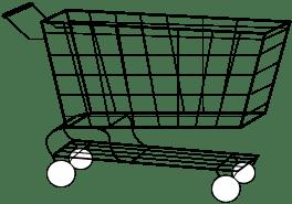 shopping cart, einkaufswagen
