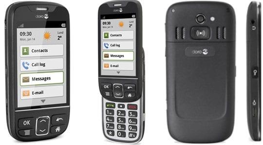 DORO PhoneEasy 740 Seniorenhandy mit Android & Notruf-Taste