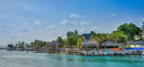 Curacao Karibik Stranddorf