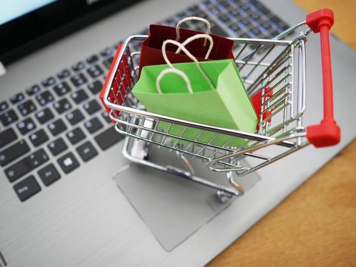 Online Shopping Einkaufen