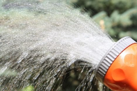 Wasserverbrauch garten