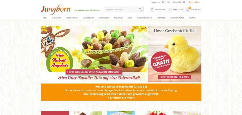 Jungborn Lebensmittel Online Kaufen