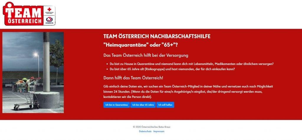 Team Oesterreich Oe3 Rotes Kreuz