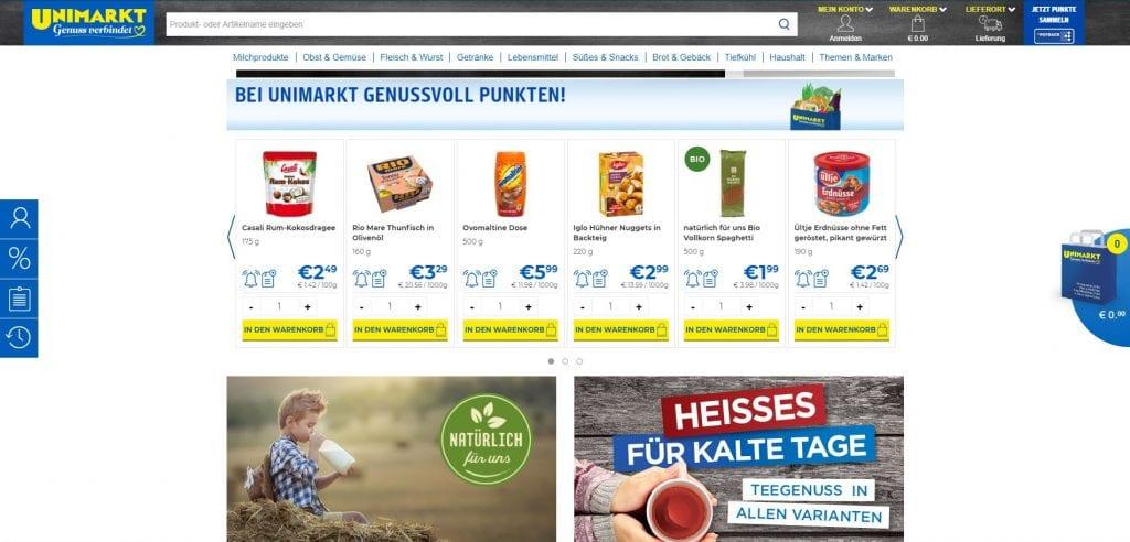 Unimarkt Lebensmittel Online Kaufen